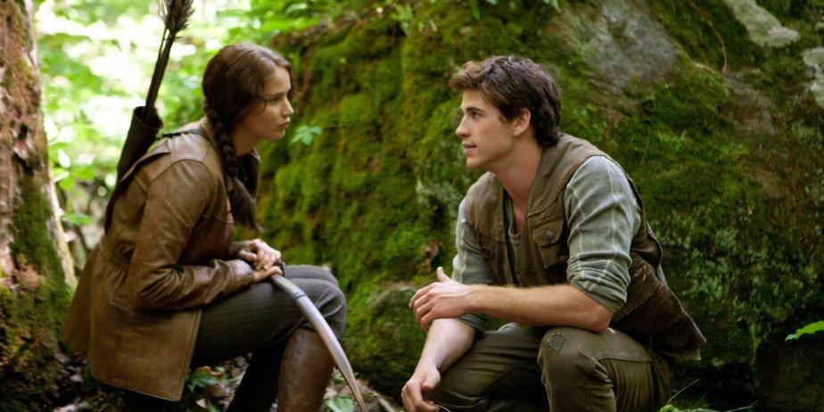 Jennifer Lawrence et Liam Hemsworth dans Hunger Games.... (Lionsgate)