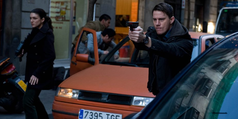 Gina Carano et Channing Tatum dans Haywire.... (Paramount Pictures)