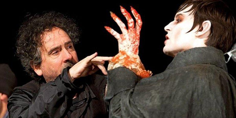 Le réalisateur Tim Burton et Johnny Depp.... (Warner Bros. Entertainment)