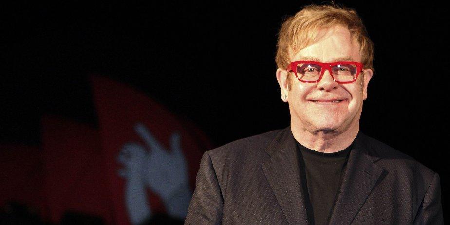 Elton John.... (Tim Wimborne, Reuters)
