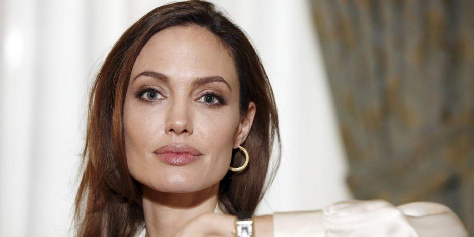 L'actrice américaine Angelina Jolie.... (AP)