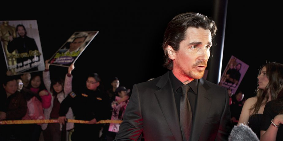 Christian Bale sur le tapis rouge de The... (Andy Wong, Archives Associated Press)