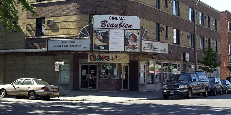 Le cinéma Beaubien vient de se voir... (Robert Mailloux, archives La Presse)