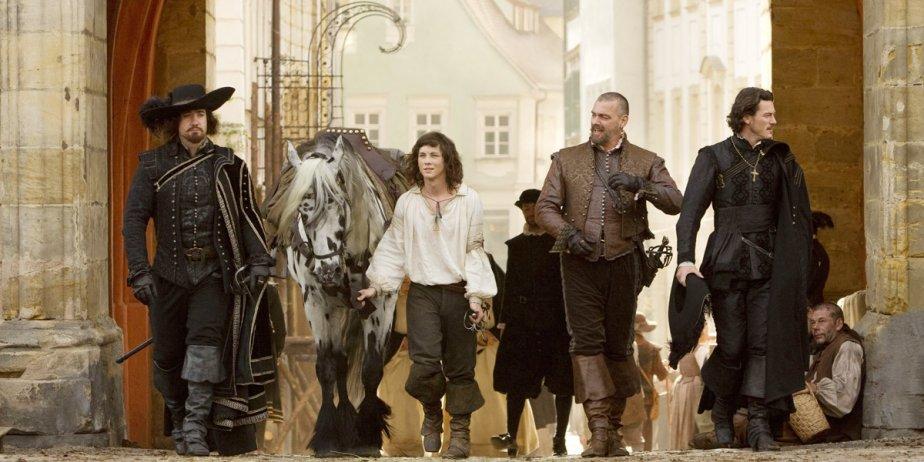 De gauche à droite: Matthew Macfadyen alias Athos,... (Fournie par Alliance)