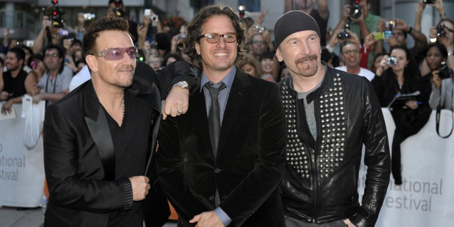 Bono et le guitariste The Edge, du groupe... (Reuters)