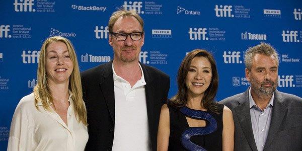 La scénariste du film Rebecca Frayn, les acteurs... (PC)