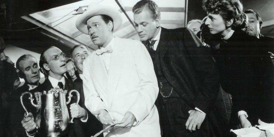 Orson Welles (en blanc) a été à la... (Archives La Presse)