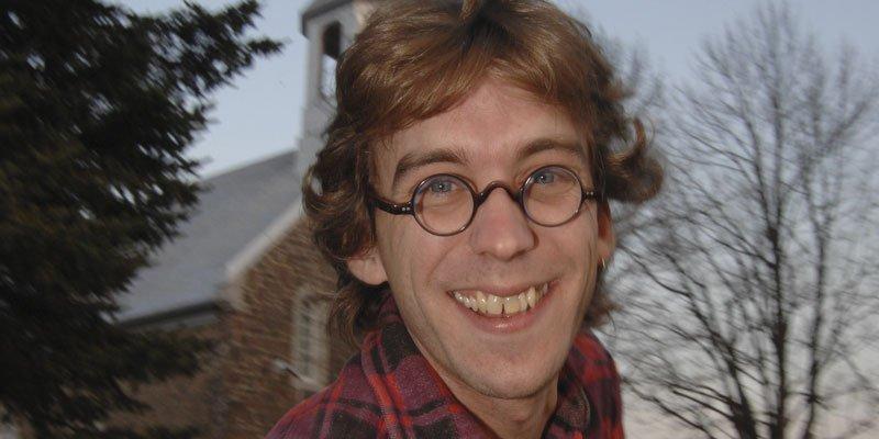 Fred Pellerin, scénariste d'Ésimésac... (Sylvain Mayer, Le Nouvelliste)