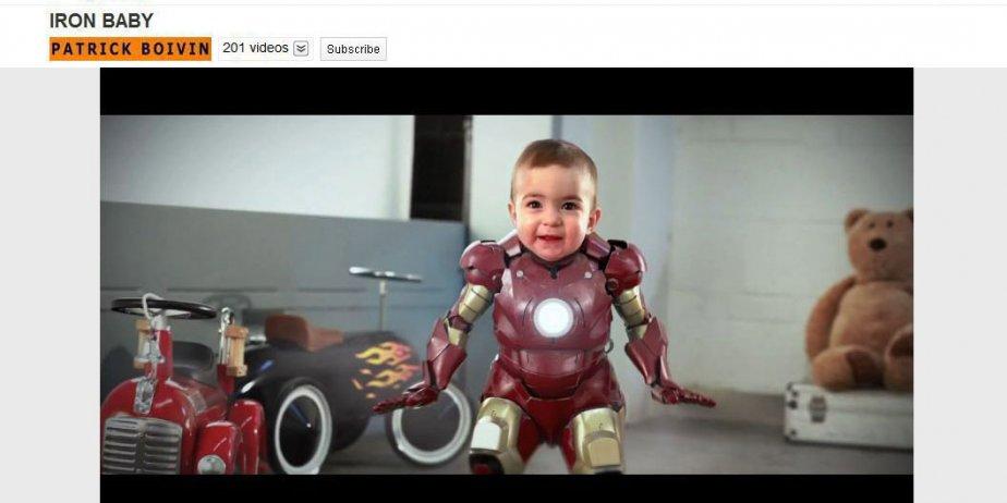 Son projet le plus connu est Iron Baby,... (PC)