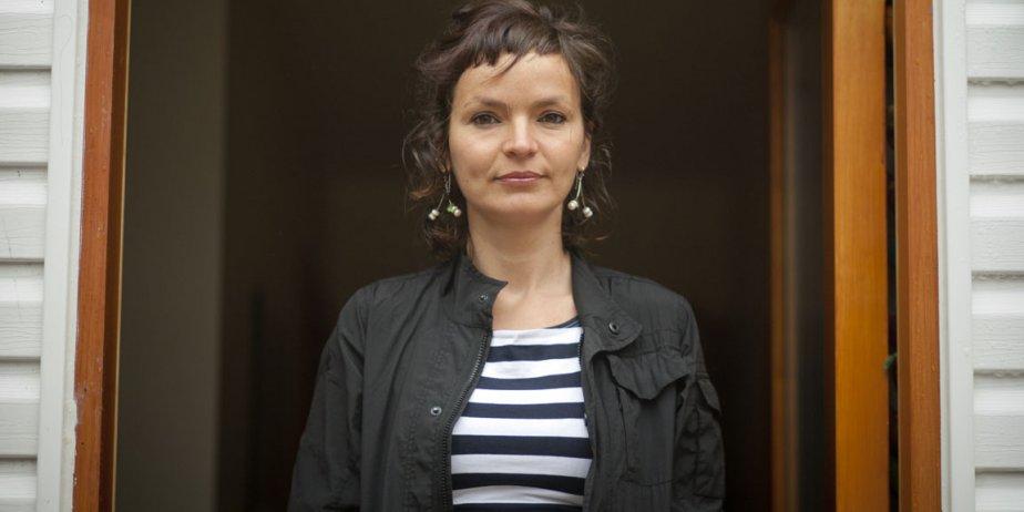 Anaïs Barbeau-Lavalette dit avoir «rencontré la guerre» en... (François Roy, La Presse)