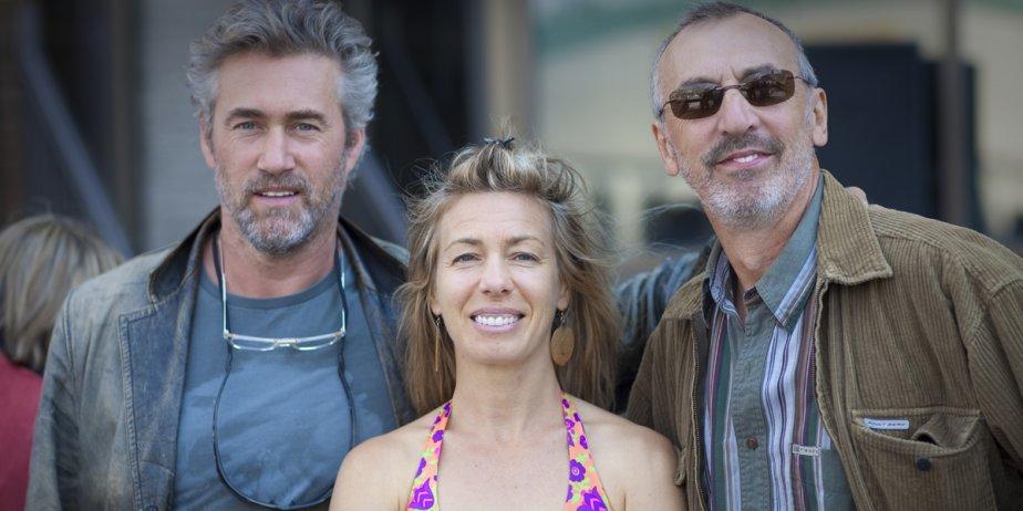 Roy Dupuis, Céline Bonnier et Gaston Lepage reviennent... (André Pichette, La Presse)