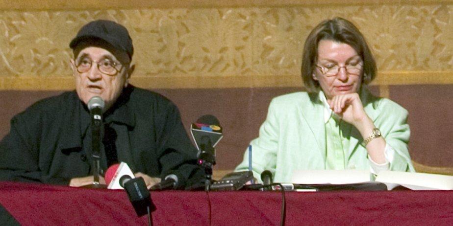 Serge Losique et Danièle Cauchard... (François Roy, La Presse)