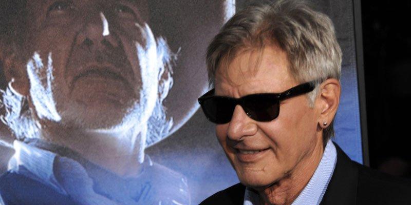 Harrison Ford est manifestement tombé amoureux des westerns par les temps... (AP)