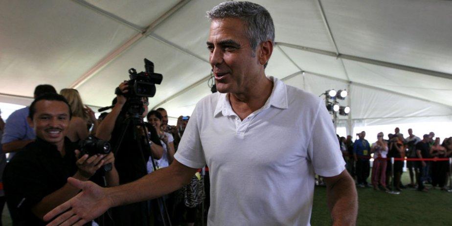 George Clooney sera en lice pour le Lion... (AP)