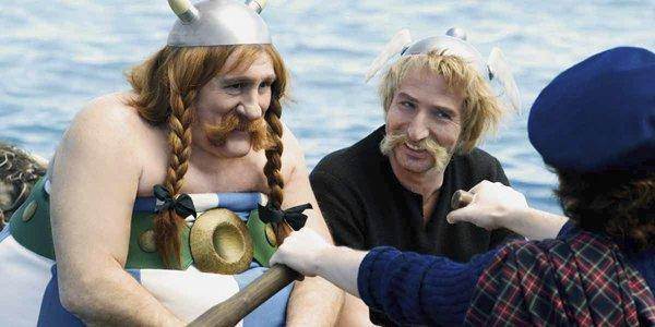 Gérard Depardieu et Édouard Baer dans God Save... (Fournie par Films Séville)
