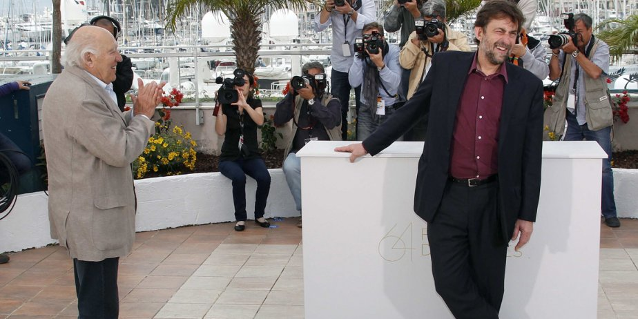 L'acteur  Michel Piccoli et le réalisateur Nanni... (Reuters)