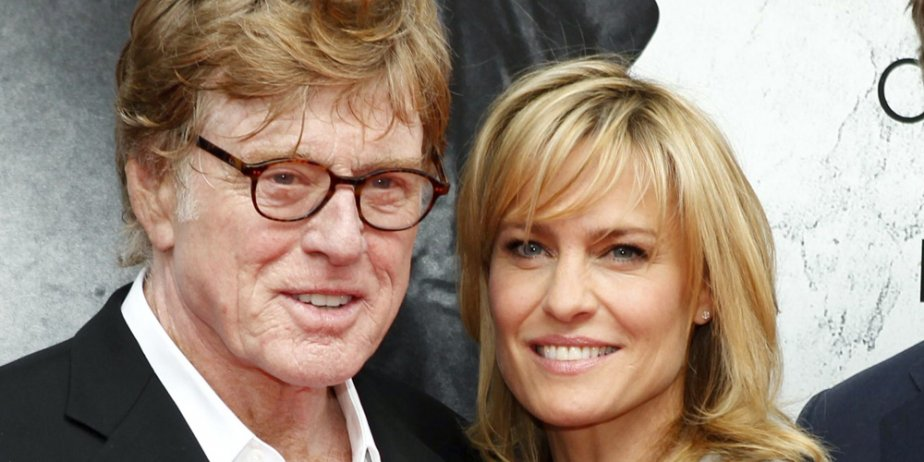 Robert Redford et Robin Wright à l'occasion de... (Reuters)