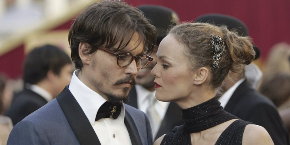 Johnny Depp et Vanessa Paradis... (AP)