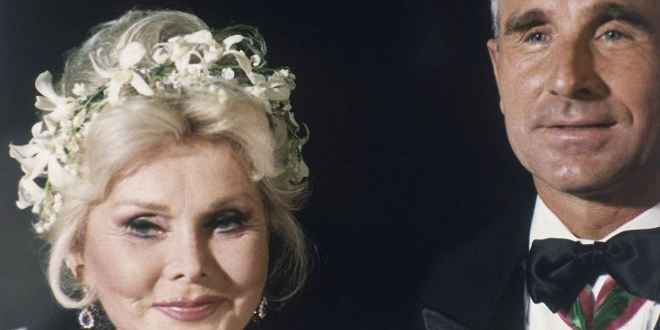 Zsa Zsa Gabor et son mari Frederic von... (archives AP)