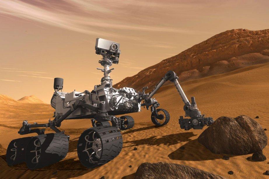 Le robot Curiosity... (PHOTO AP/NASA)