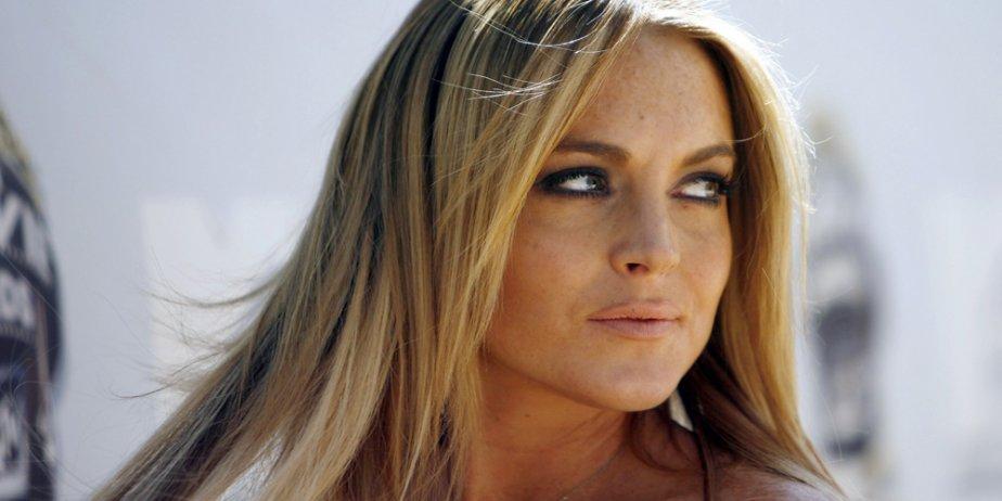 Lindsay Lohan... (Reuters)