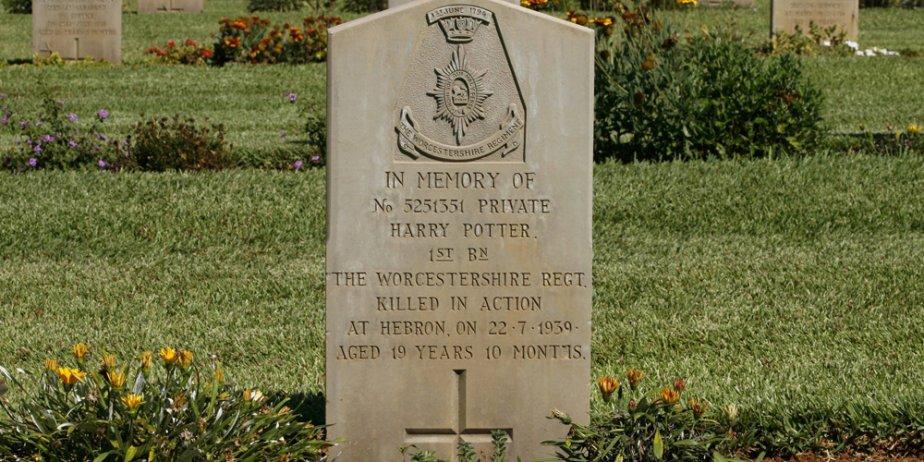 La tombe d'un certain Harry Potter mort en...... (AP)
