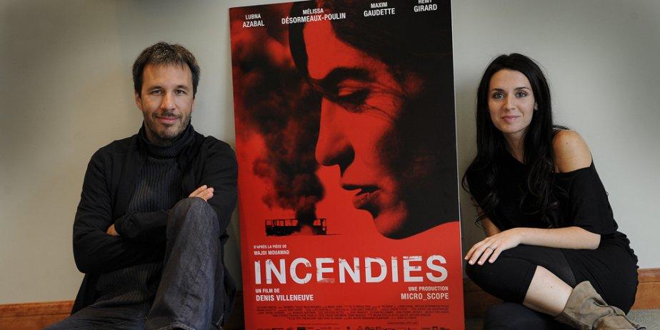Denis Villeneuve et Mélissa Désormeaux-Poulin... (Le Soleil)