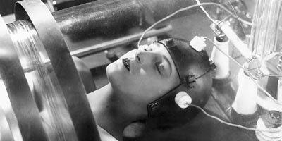 Image extraite du chef d'oeuvre de Fritz Lang....
