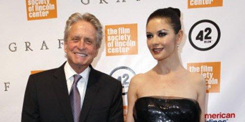 Catherine Zeta-Jones et son mari Michael Douglas.... (Photo Reuters)