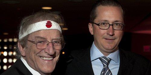 Jean Lapointe et Patrick Théroux se sont dits... (Photo Robert Skinner, La Presse)