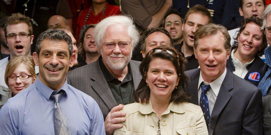 La grande famille de Lance et compte, sur... (André Pichette, La Presse)