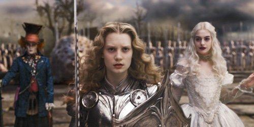 «Alice au pays des merveilles» du réalisateur Tim Burton est bien... (Photo AP)