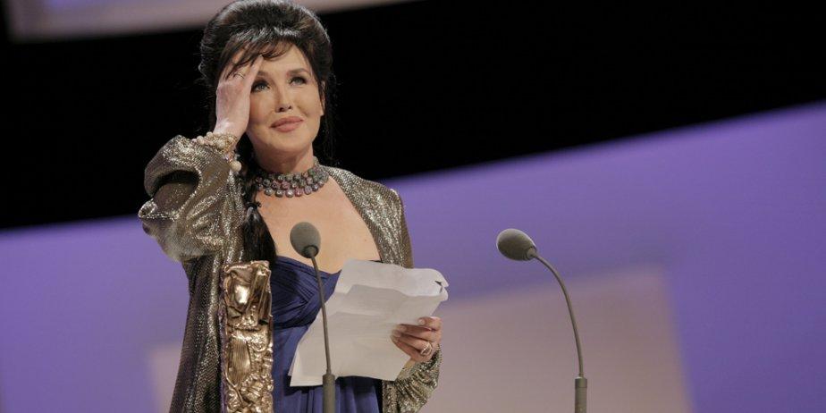 Isabelle Adjani était si émue d'avoir gagné le... (Reuters)