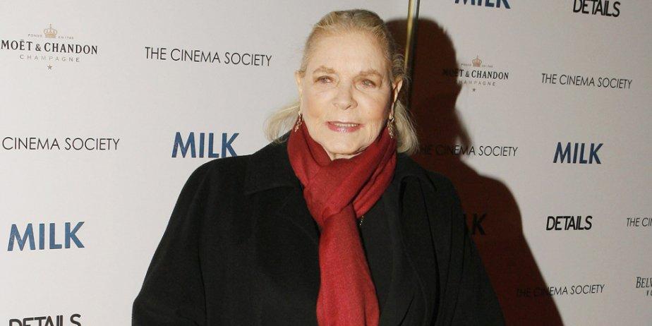 Lauren Bacall... (Reuters)
