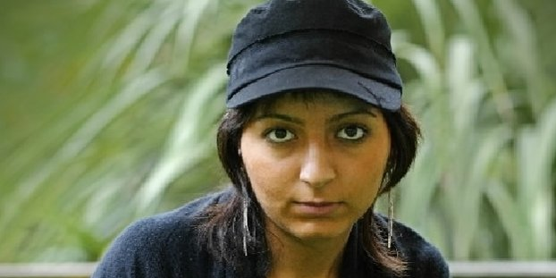 La réalisatrice Hana Makhmalbaf... (AFP)