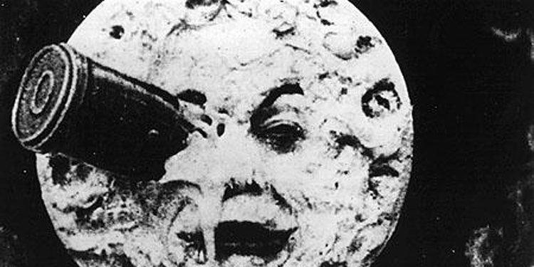 Image tirée du film Voyage dans la Lune,...