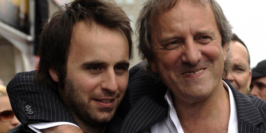 Louis-José Houde et Michel Côté, les deux vedettes... (Bernard Brault, La Presse)