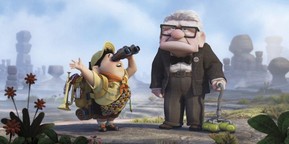 Le film d'animation Up, des studios Pixar, est resté en tête du... (Pixar)
