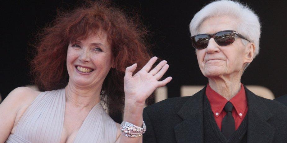 Sabine Azéma et Alain Resnais... (AFP)