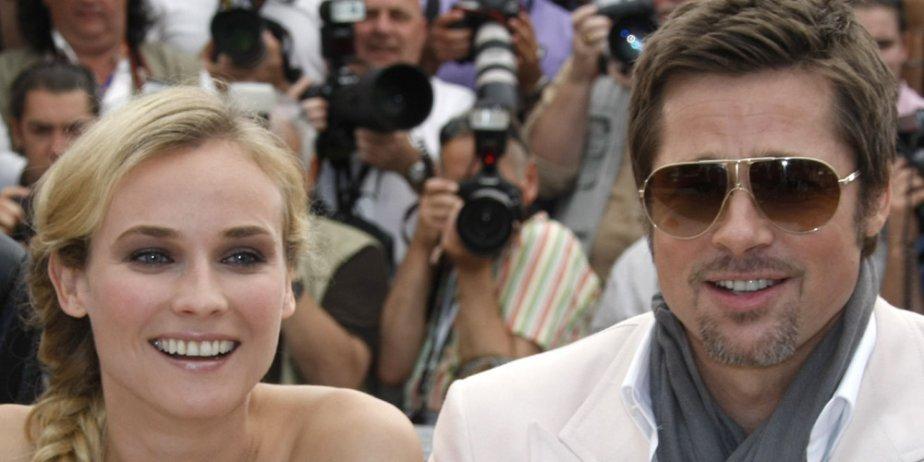Diane Kruger et Brad Pitt, vedettes de Inglourious... (Reuters)