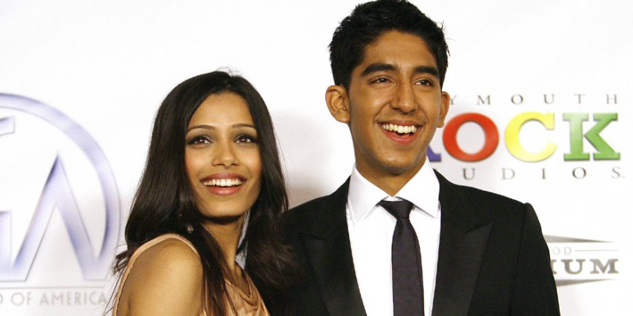 Dev Patel et Freida Pinto... (Reuters)