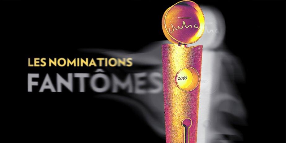 Une liste de nominations établie par un jury de... (Photomontage La Presse)