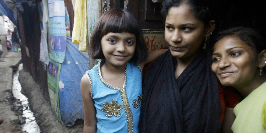Rubina Ali Qureshi, 9 ans, habite toujours les... (AP)
