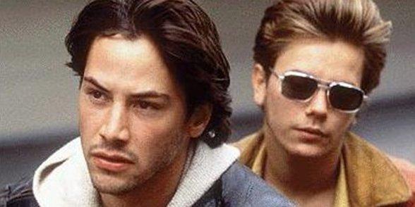 Keanu Reeves et River Phoenix dans My Own...