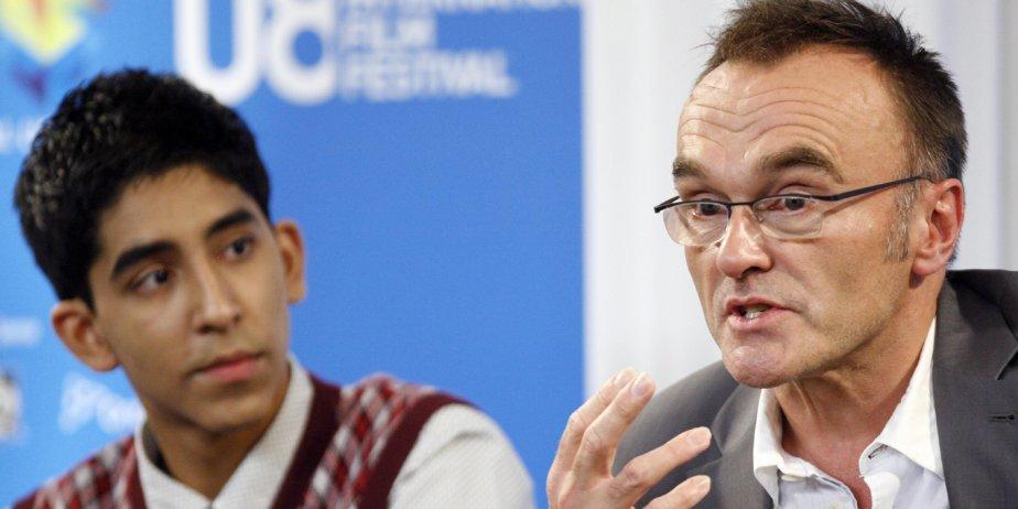 L'acteur indien Dev Patel en compagnie du réalisateur... (Reuters)
