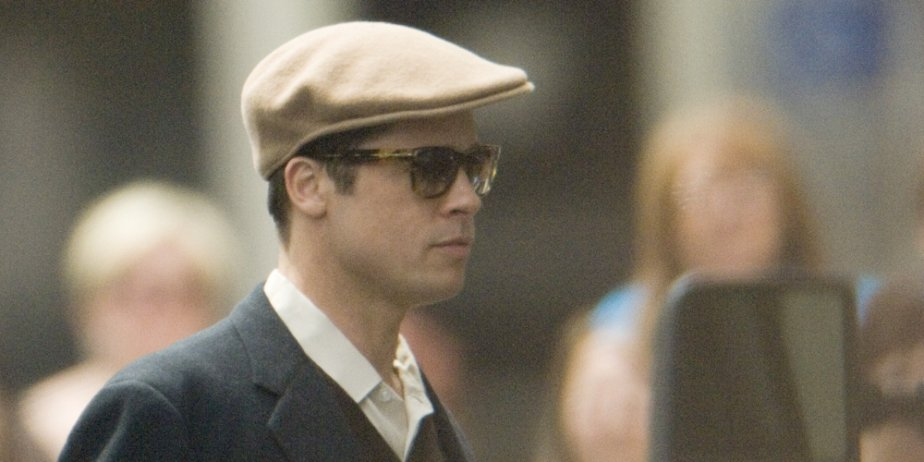Contrairement à l'été dernier, Brad Pitt ne foulera... (Ivanoh Demers, La Presse)