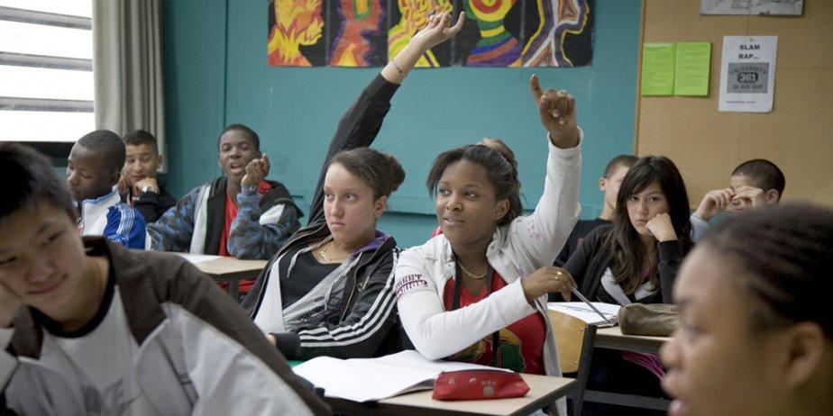 L'idée d'aller passer deux heures dans une classe d'école... (Festival de Cannes)
