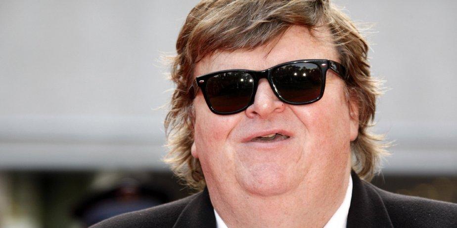 Michael Moore était à Cannes cette semaine.... (Reuters)