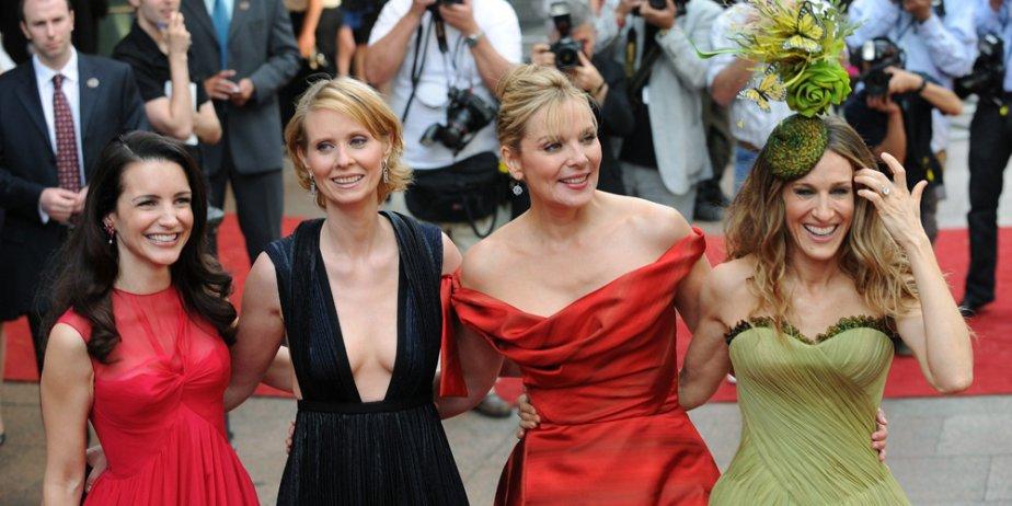 Les actrices Kristin Davis, Cynthia Nixon, Kim Cattrall... (AFP)
