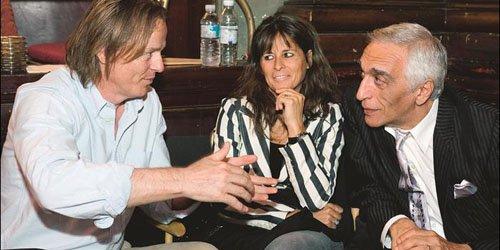 Les scénaristes et producteurs Michel Trudeau et Fabienne...
